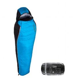 COLUMBUS Saco de dormir Lanin 100 azul / 950 g / 210x80/50 cm / TªC 10.4ºC / TªL 6.2ºC / TªE -6.3ºC