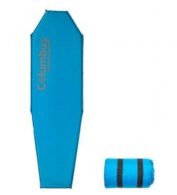 COLUMBUS Aislante autoinflable SM8 azul / 183x51x3 cm / 1,050 Kg