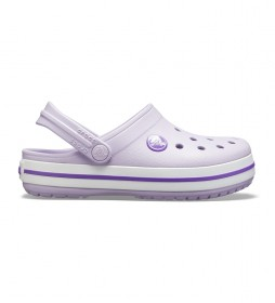 Zuecos Crocband Clog K violeta