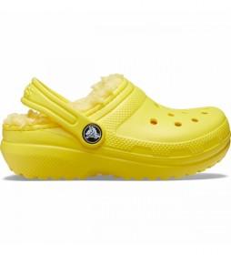 Zuecos Classic Lined Clog K amarillo