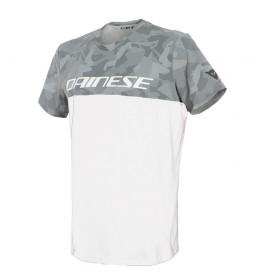Dainese Camo-Tracks t-shirt blanc, anthracite