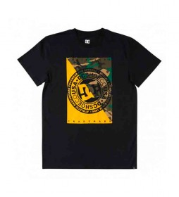 Camiseta Warfare SS 211 negro