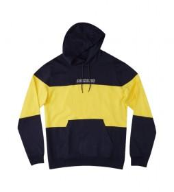 Sudadera Downing Franchise PH marino, amarillo