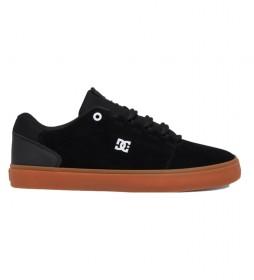 Zapatillas de piel Hyde negro
