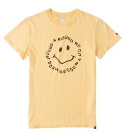 Camiseta Round We GoTSS amarillo