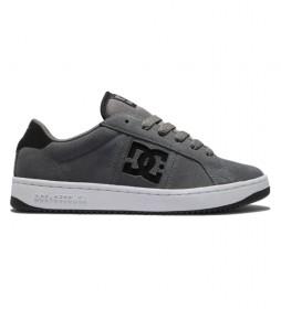 Zapatillas de piel Striker gris
