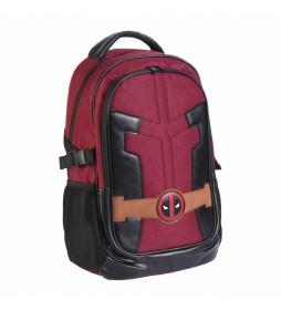 Mochila Deadpool rojo -31x47x24cm-