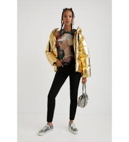 Abrigo Goldie dorado