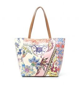Bolso Shopping Bag Boho Norwich multicolor -25.5x16x27.5cm-