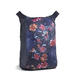 Mochila Flowers Bag Ball azul, multicolor