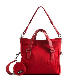 Bolso Mandarala Loverty rojo -29.4x15.8x21cm-