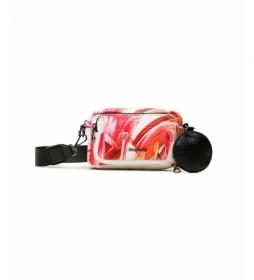 Bolso Cruzado Arty rosa -18,3x5,5x11,5cm-