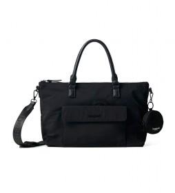 Bolso Mandarala Padua PC negro - 35x12x25.4cm -