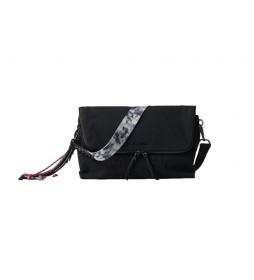 Bolso bandolera Aquiles Venecia Maxi negro -29,20x15,20cm-