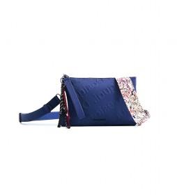 Bolso bandolera Galia Dortmund azul -17,50x3x27,20cm-