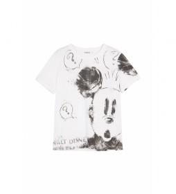 Camiseta Mickey Mouse blanco