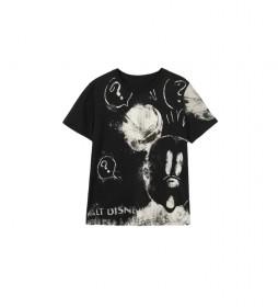 Camiseta Mickey Mouse negro