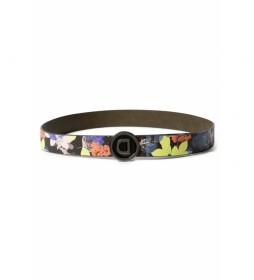 Cinturón Flourish Reversible multicolor -90cm-