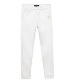 Jeans Denim Alba blanco