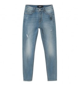 Jeans Denim Alba azul claro