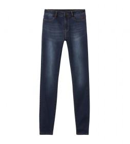 Jeans Basic Denim 2nd Skin azul