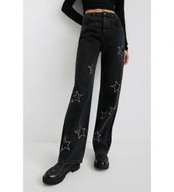 Jeans Mercurio negro