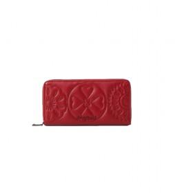 Monedero Big Big Fiona rojo -2x10cm-