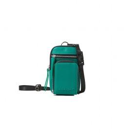 Monedero Dafne verde -10.2x17x1.5cm-