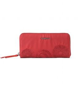 Monedero Mandarala Fiona rojo -20x2x10cm-