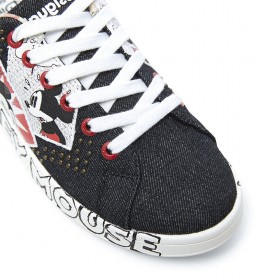 Zapatillas Denim MIckey Mouse negro