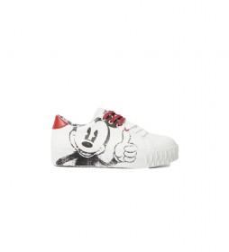 Zapatillas Street Mickey blanco