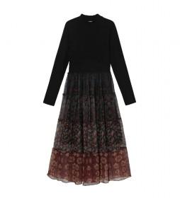 Vestido Cinamon negro