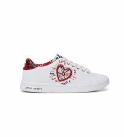 Zapatillas Cosmic Heart blanco