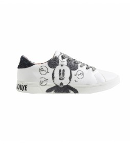 Zapatillas Cosmic Mickey Glitter blanco