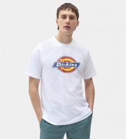 Camiseta Icon Logo blanco