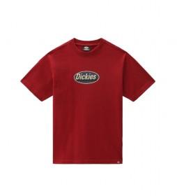 Camiseta Saxman Manga Corta rojo