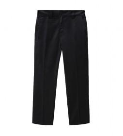Pantalón Slim Fit Work 872 negro