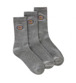 Pack de 3 Calcetines Valley Grove gris