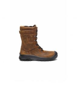 Botas de piel Woodukut marrón