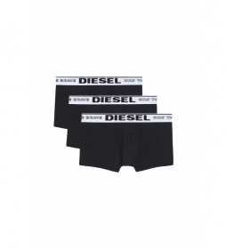 Pack de 3 boxers Damien Only the Brave negro