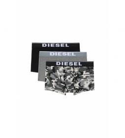 Pack de 3 boxers Damien gris, negro, camuflaje