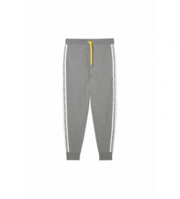 Pantalones Peter gris, blanco