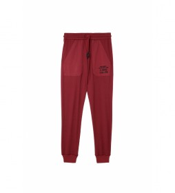 Pantalones Peter granate