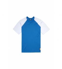 Camiseta Base azul, blanco