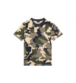 Camiseta Diegos verde, camuflaje