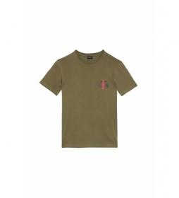 Camiseta Diegos verde militar