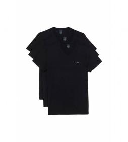 Pack de 3 Camisetas Jake negro