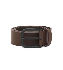 Cinturón de piel B-Boldy marrón