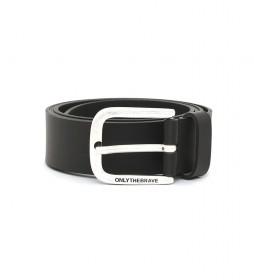 Cinturón de piel B-Boldy negro