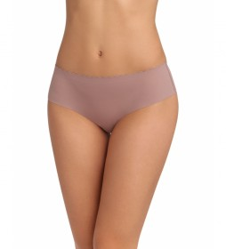 Pack de 2 bragas hipsters Body Touch multicolor